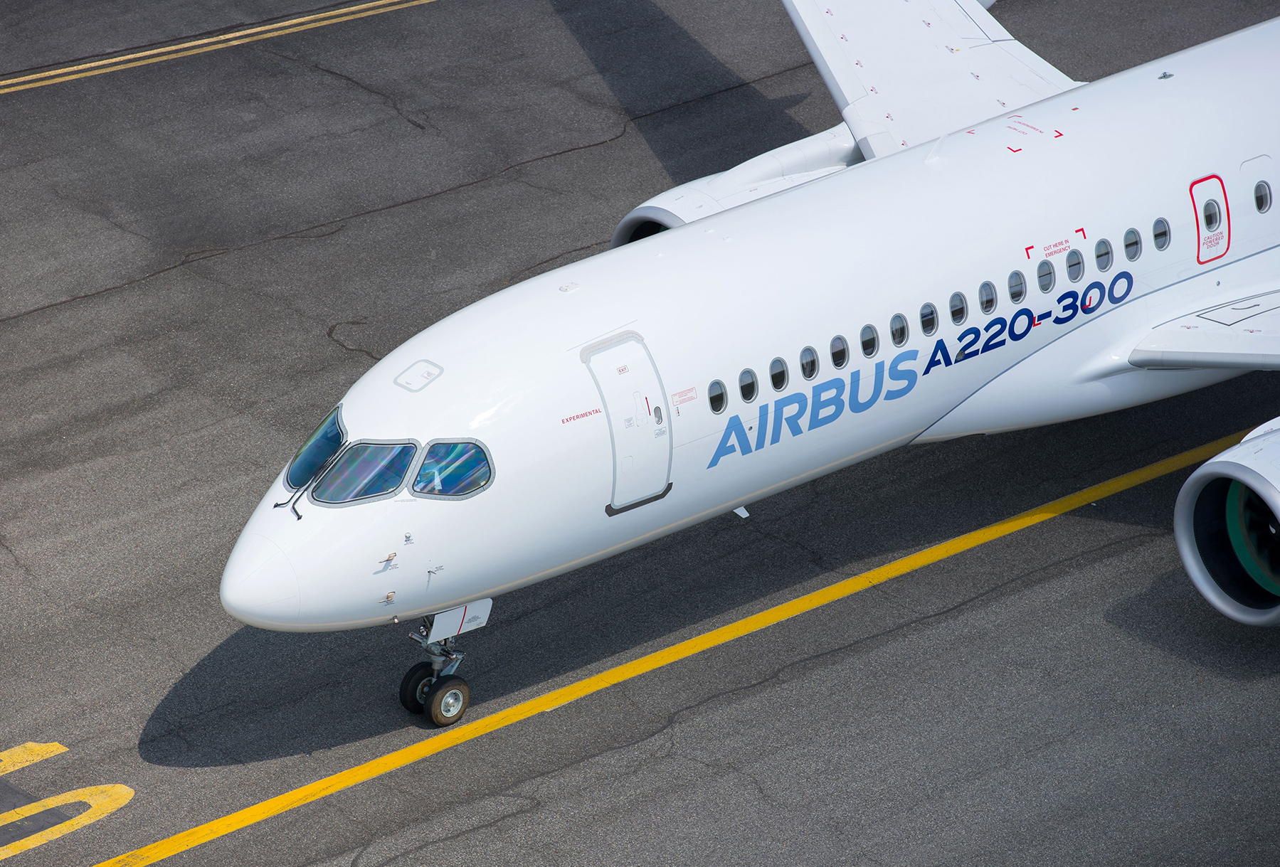 Airbus on July 10 rebranded the Bombardier C Series as the Airbus A220-100 and -300.