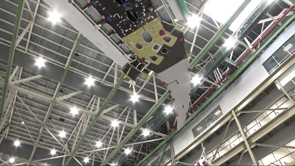 Beyond The Carrier Deck A Glimpse At The 777x Folding
