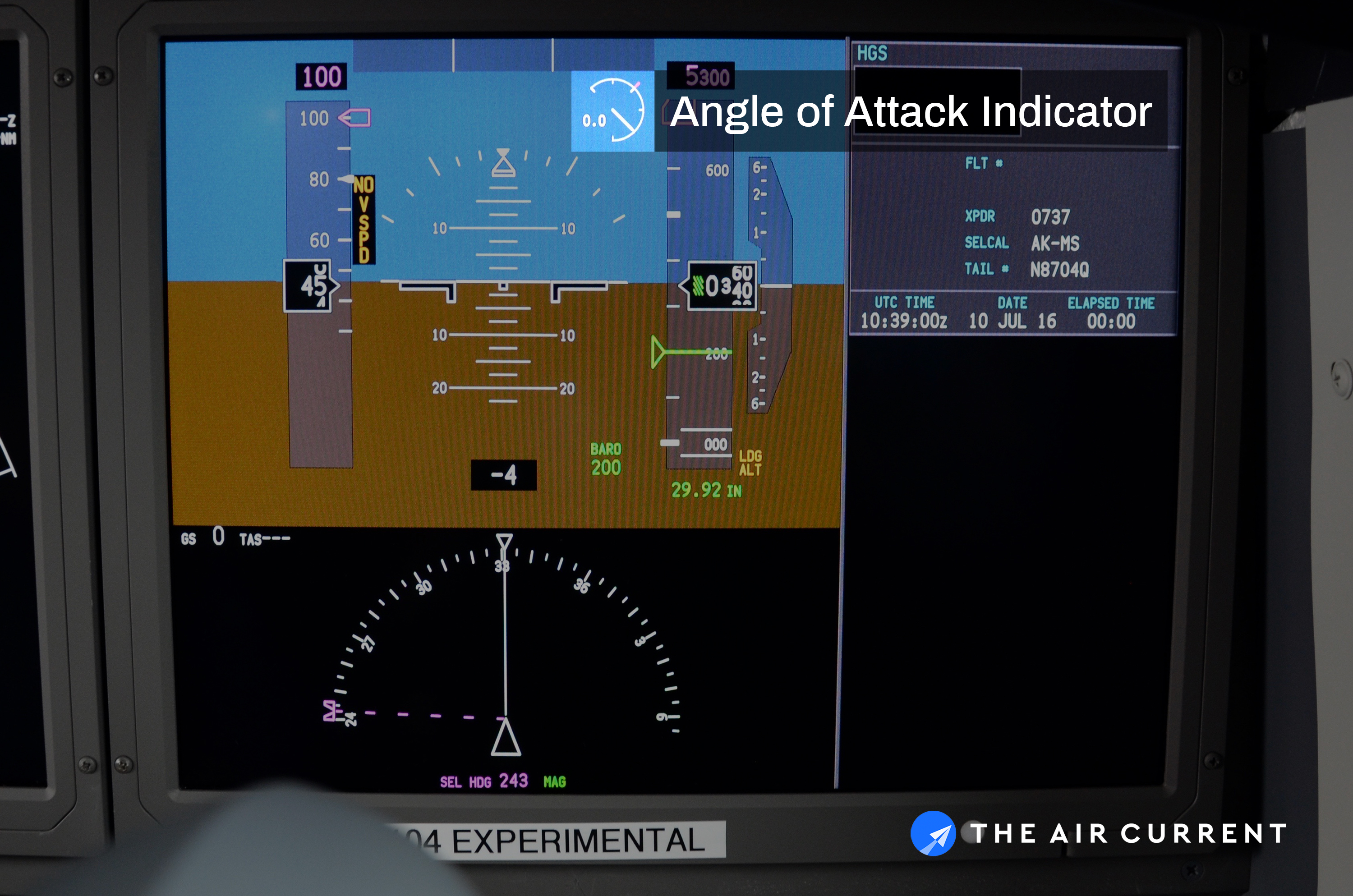 Southwest is adding new angle of attack indicators to its