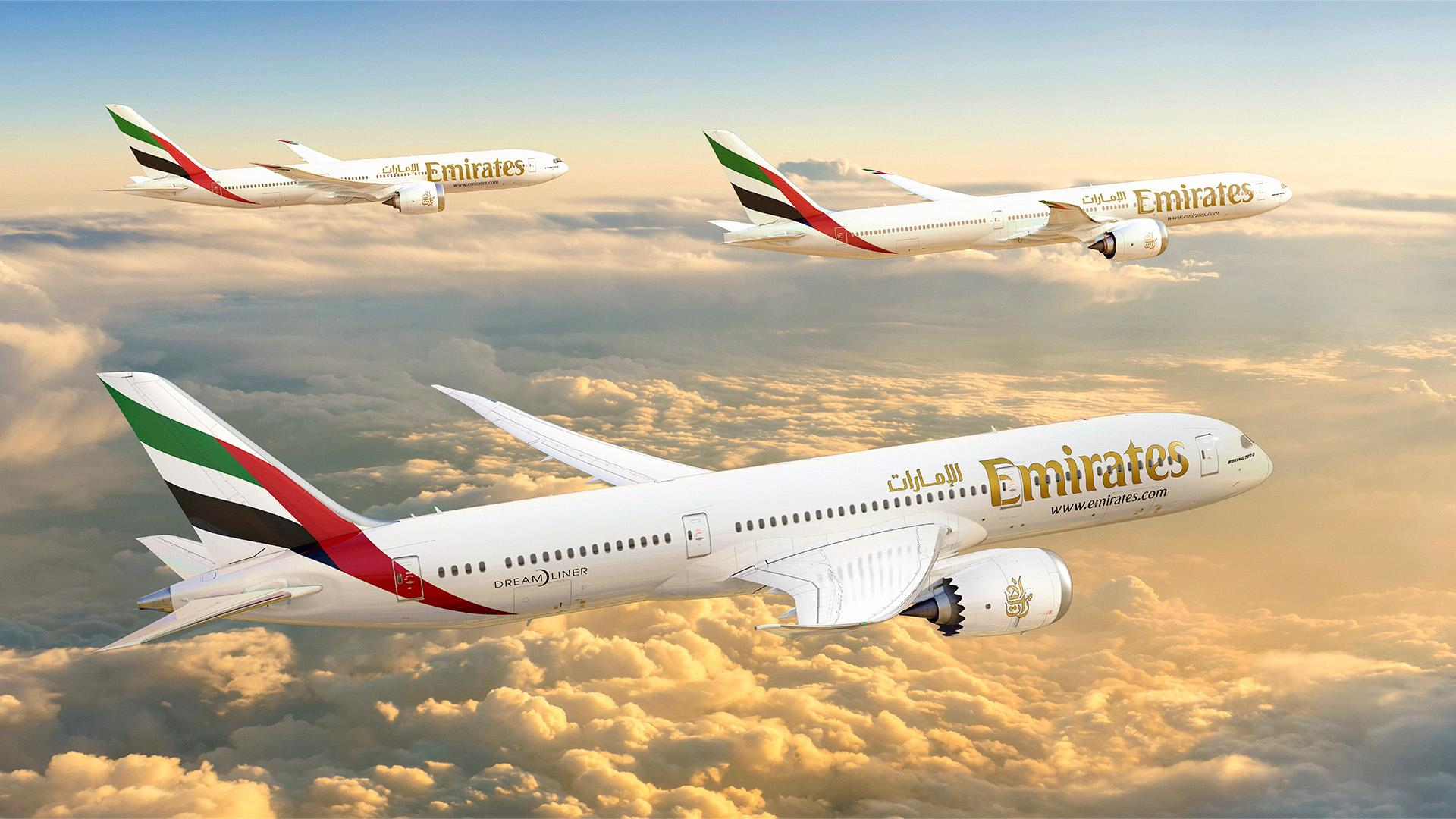 Emirates has 126 777Xs and 30 787s on order from Boeing.