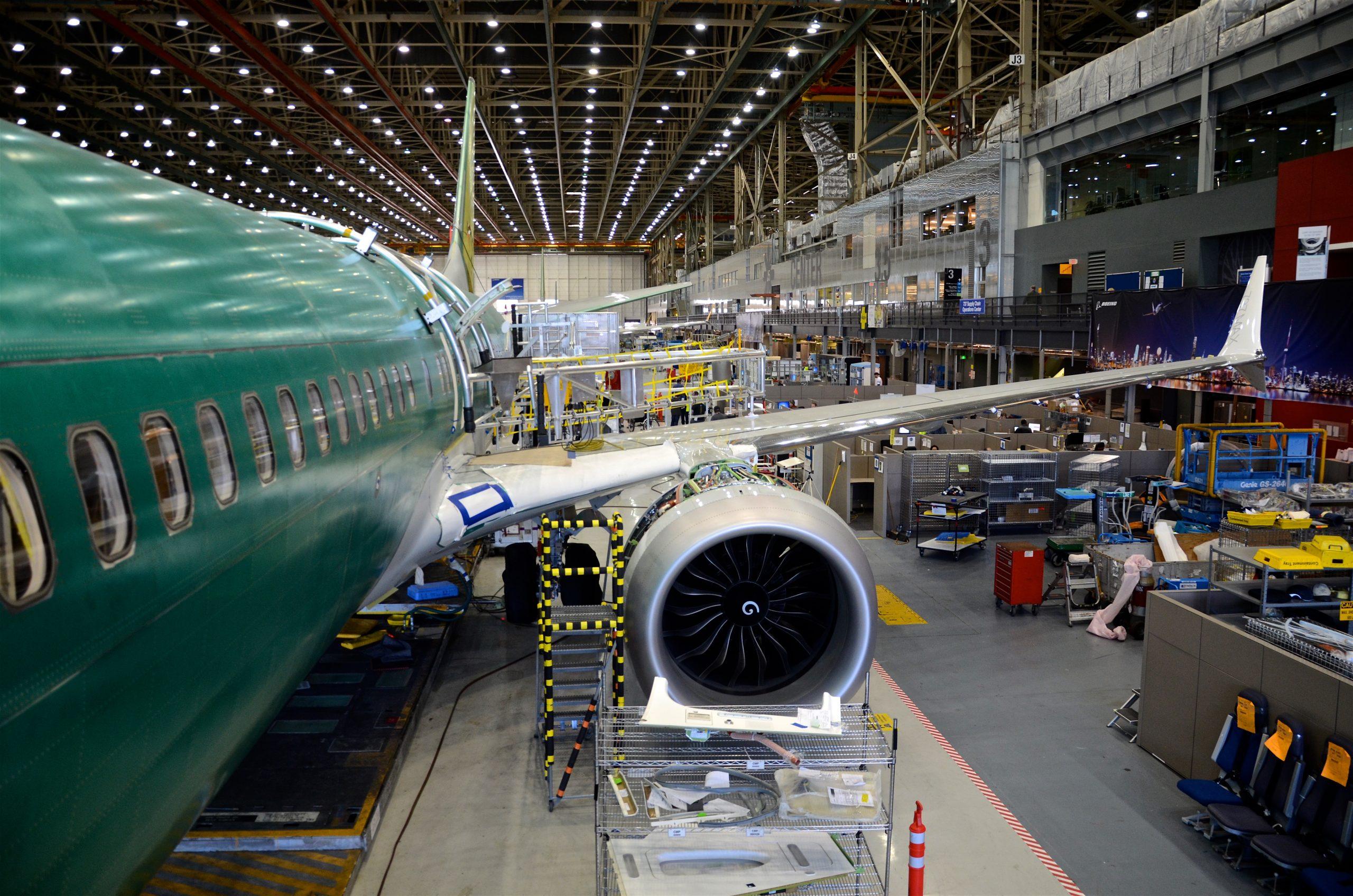 Resultado de imagen para Spirit AeroSystems Boeing 737 MAX
