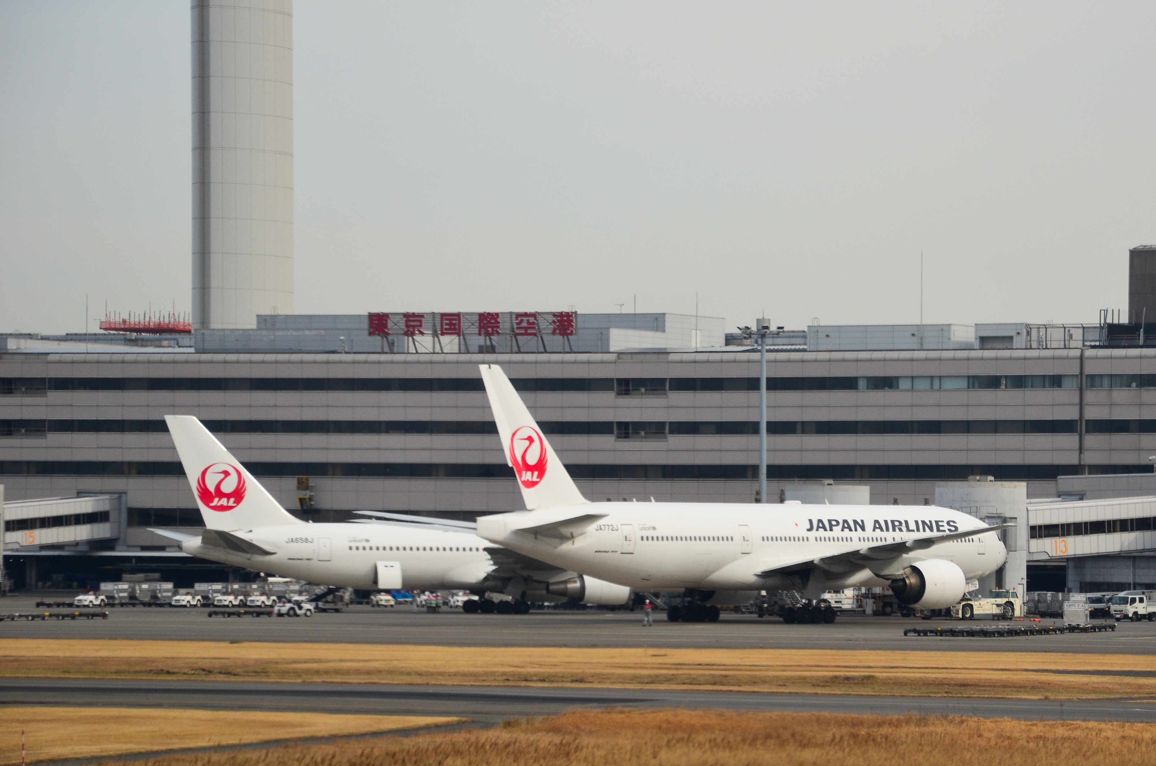 Japan Airlines uses older Boeing 777-200s in high-cycle domestic operations to compete with high speed trains.