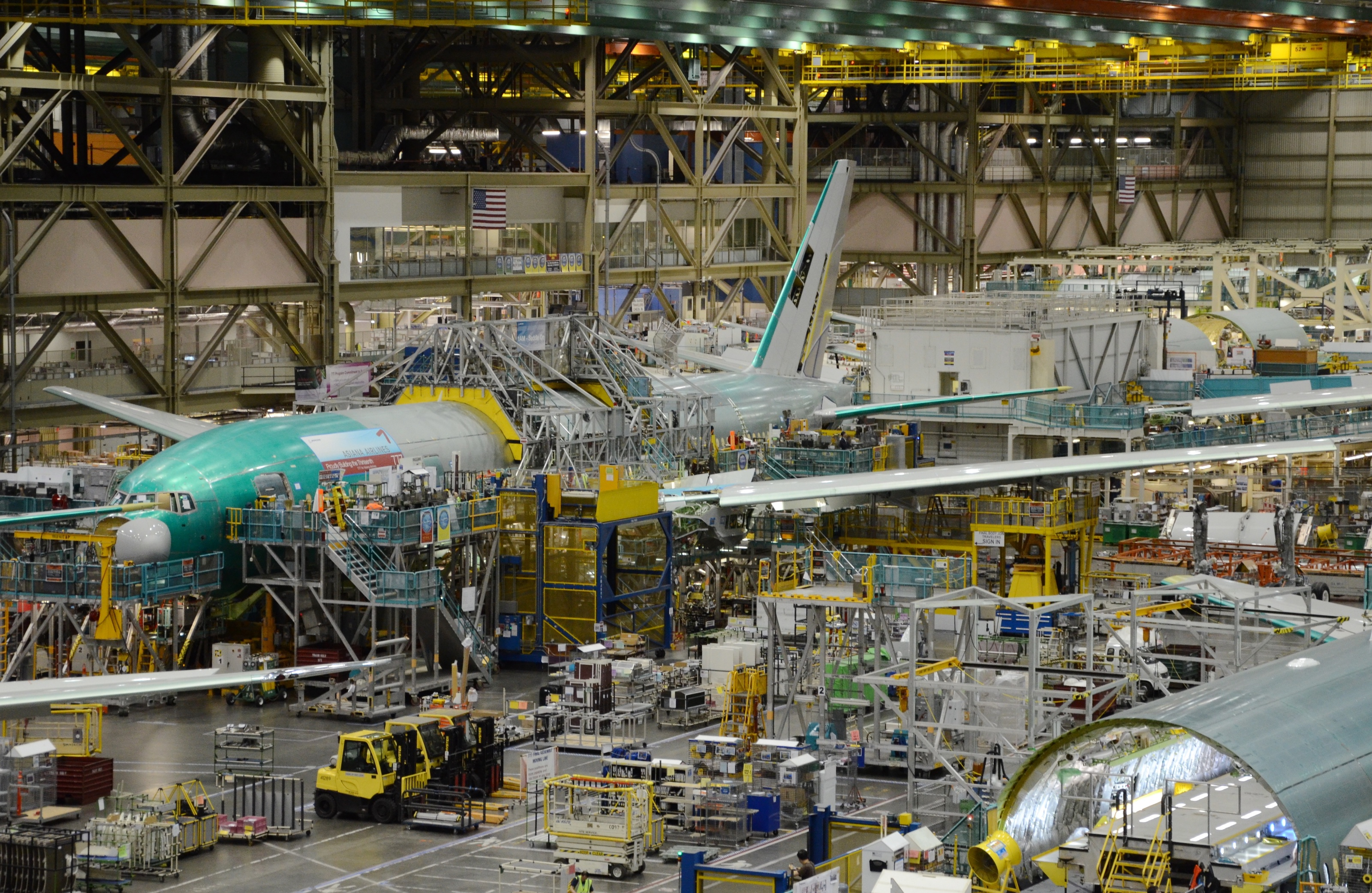 The last Boeing 777 to be powered by Pratt & Whitney engines was delivered to Asiana Airlines in the summer of 2013.